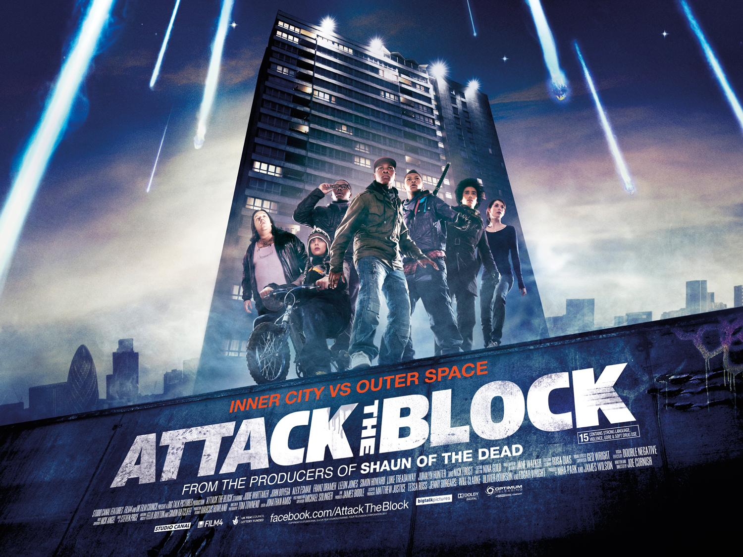 [Nick Frost and Joe Cornish signing Attack the Block]
