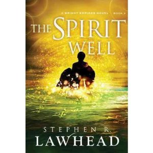 [Stephen Lawhead signing The Spirit Well]