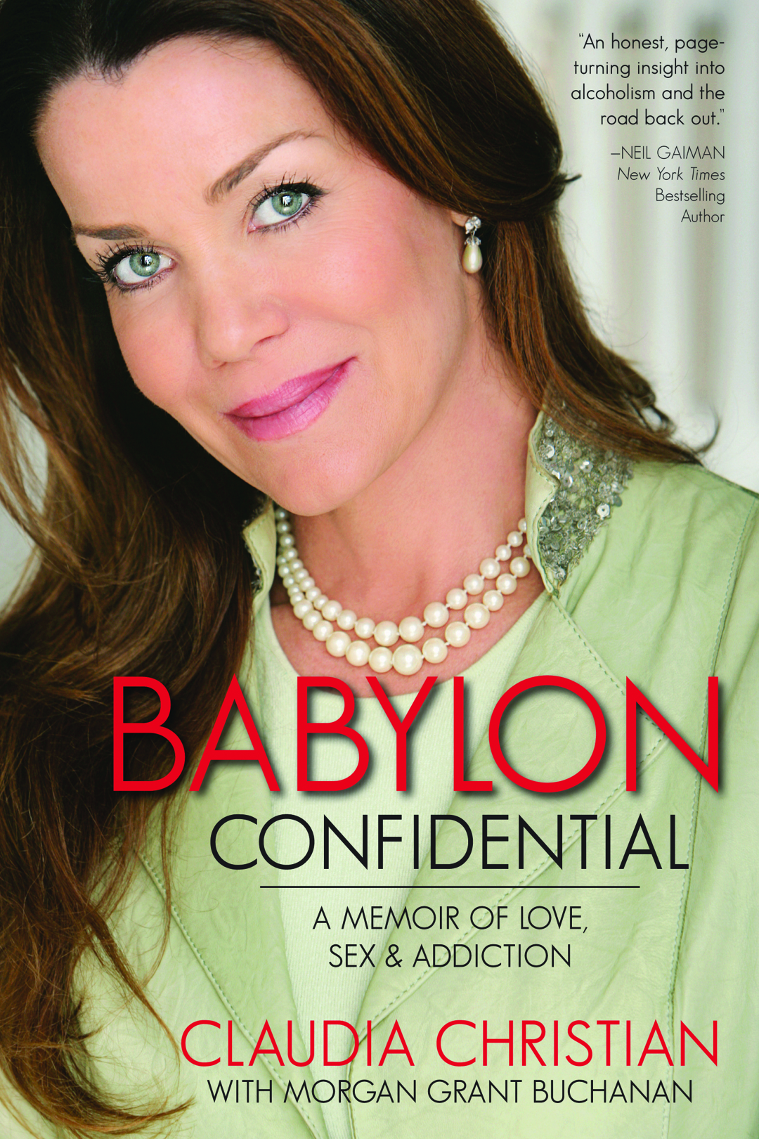 [Claudia Christian signing Babylon Confidential]