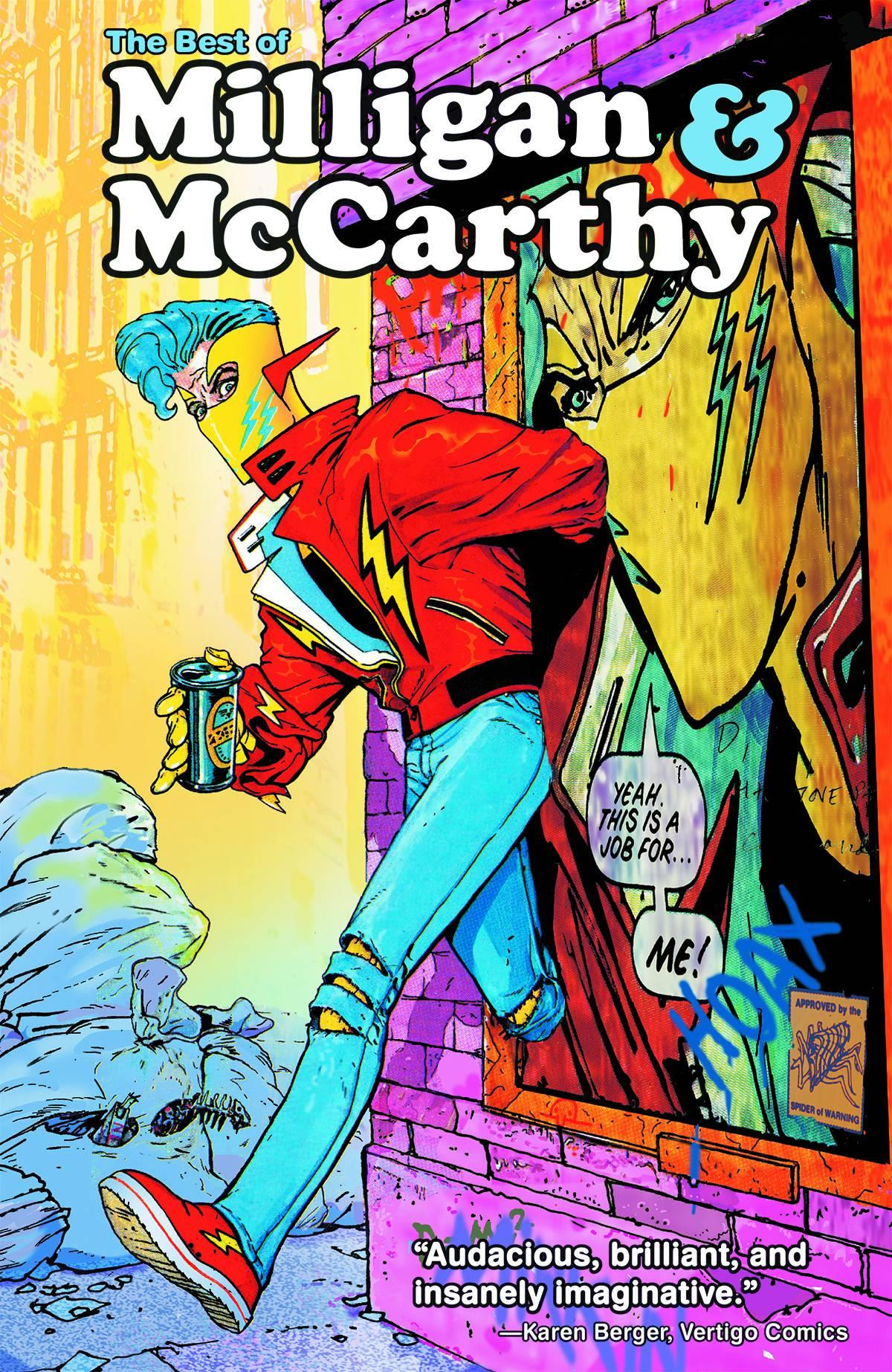 [Milligan & McCarthy sign The Best Of Milligan & McCarthy]