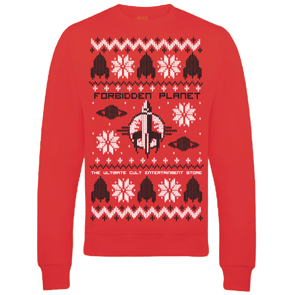 Anime Christmas Sweater.Forbidden Planet Sweatshirt Christmas Jumper