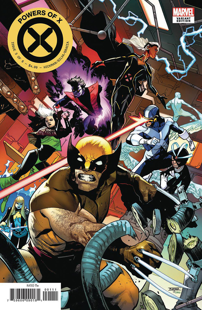 Powers Of X #3 (Asrar Connecting Variant)
