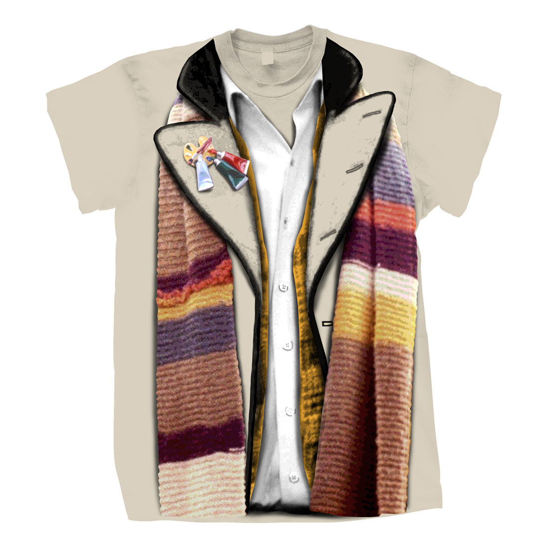 Doctor Who T-Shirts 4th Doctor Costume (City Of Death Variant) @ ForbiddenPlanet.com - UK and Worldwide Cult Entertainment Megastore  sc 1 st  Forbidden Planet : dr who 4th doctor costume  - Germanpascual.Com