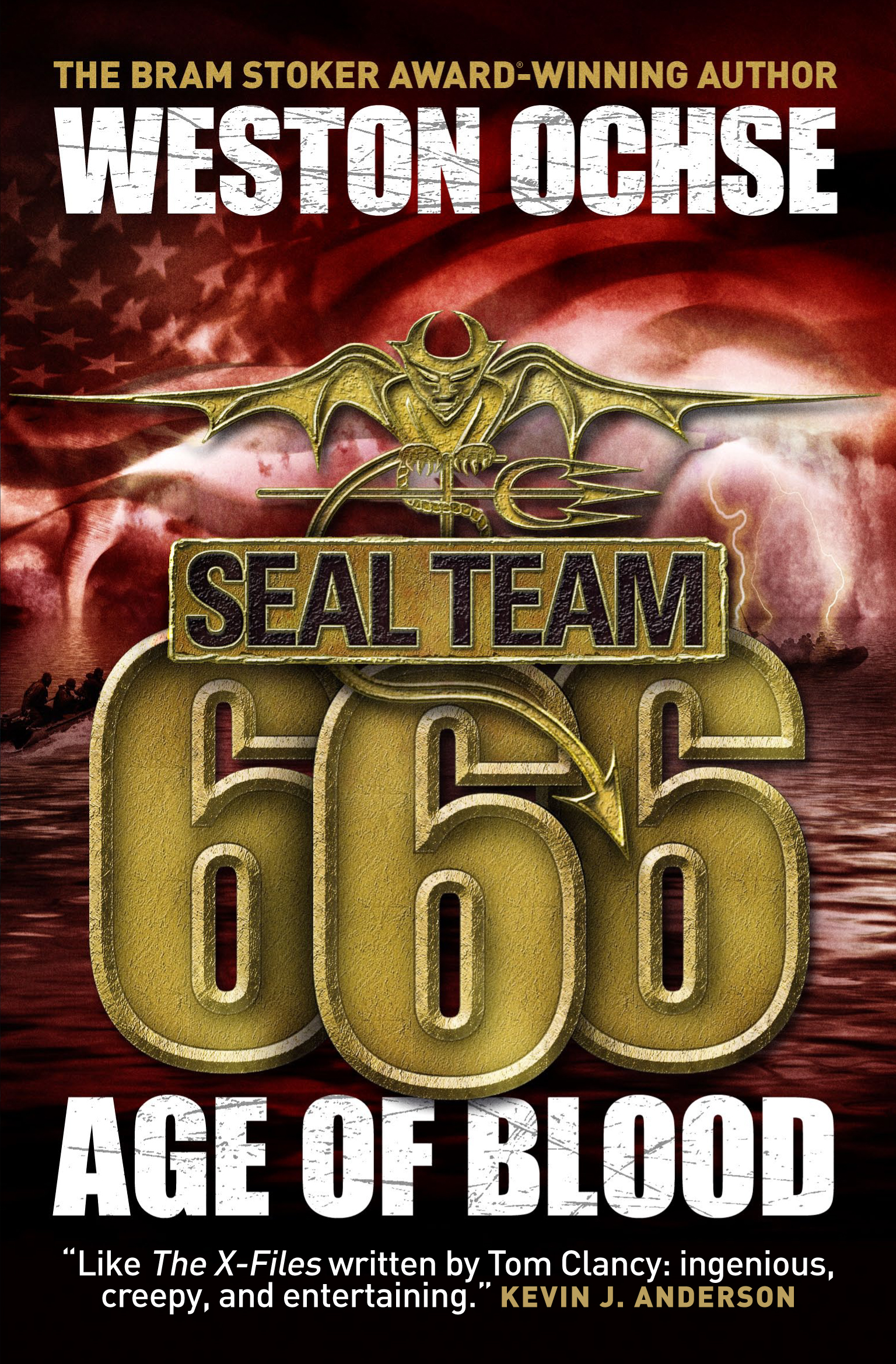 Seal Team 666: Age Of Blood by Weston Ochse published by Titan Books @  ForbiddenPlanet.com - UK and Worldwide Cult Entertainment Megastore