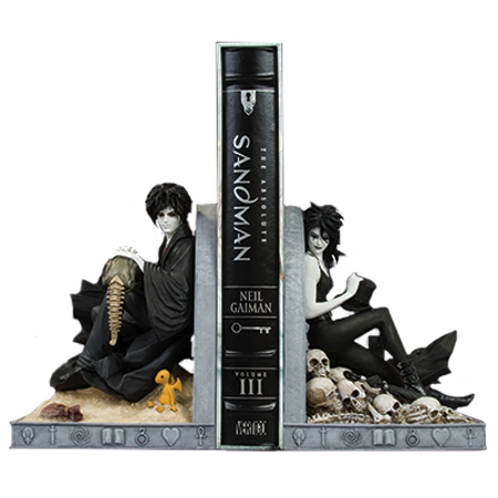 [Sandman: Sandman And Death 20th Anniversary Bookends (Product Image)]