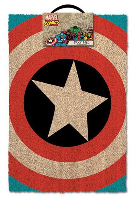 Captain America: Door Mat: Shield @ ForbiddenPlanet.com   UK And Worldwide  Cult Entertainment Megastore