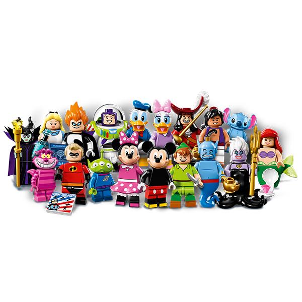 LEGO: Disney Minifigures 2016