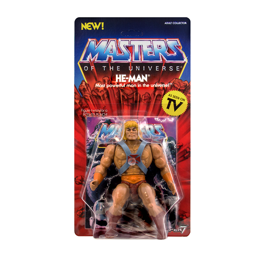Adult Cd Universe masters of the universe: vintage action figure: he-man