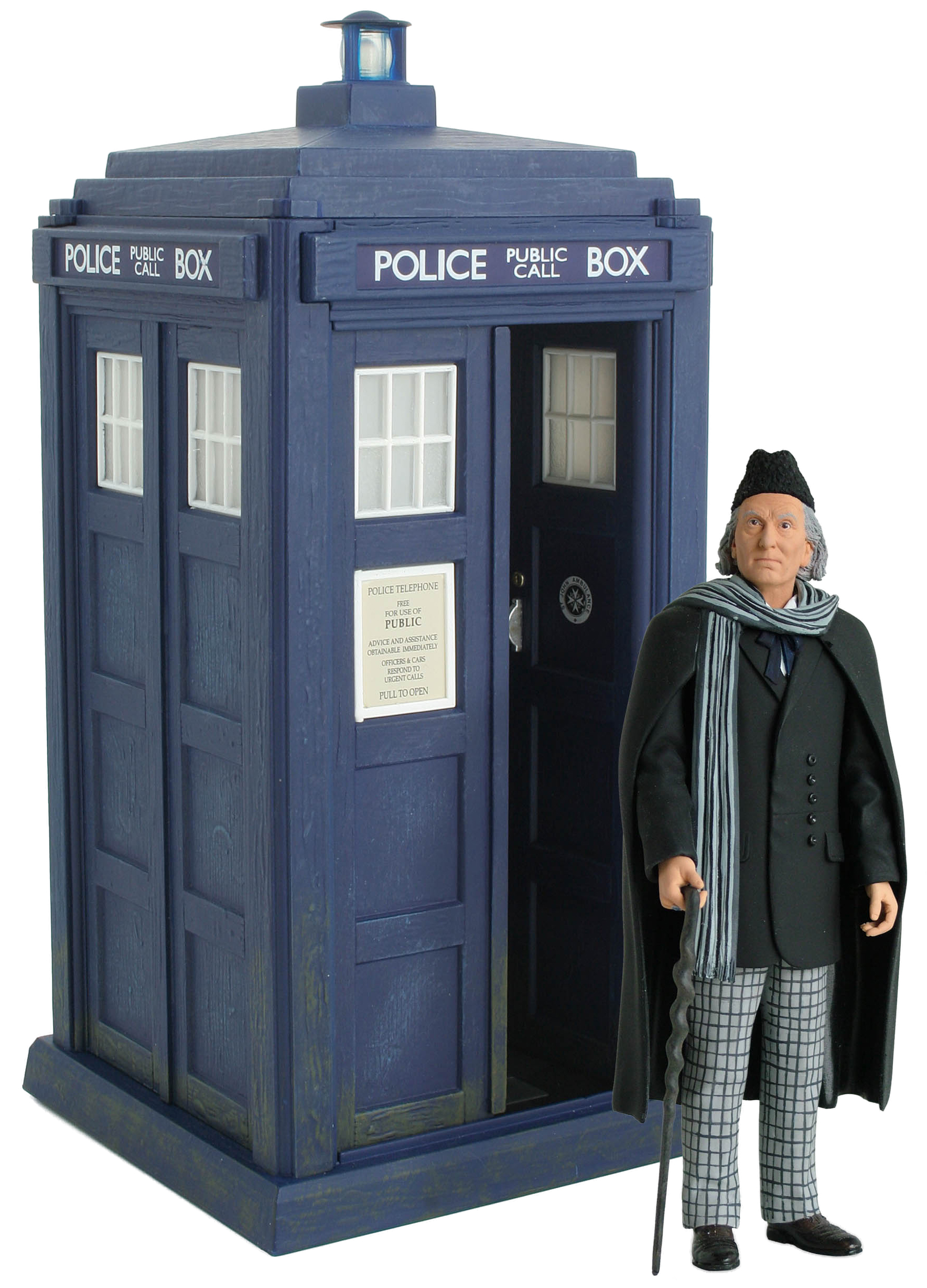 [Action Figures: 1st Doctor & Classic Electronic TARDIS: An Unearthly Child]