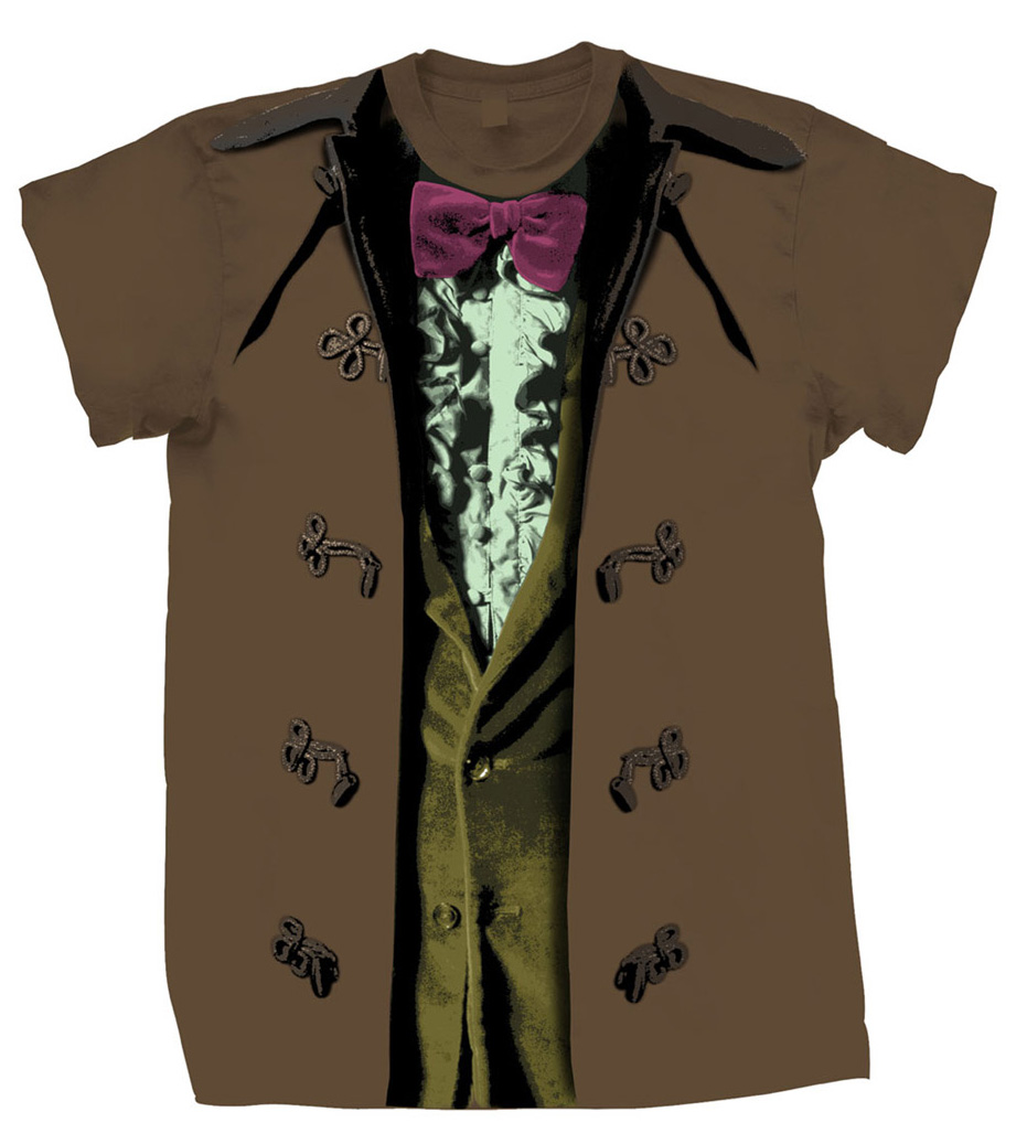 [Doctor Who: T-Shirts: 3rd Doctor Costume (Forbidden Planet Exclusive) (Product Image)]