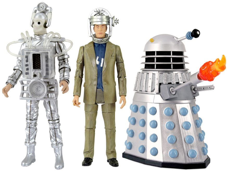[Action Figure Collectors Set: Enemies Of The 1st Doctor (Forbidden Planet Exclusive)]