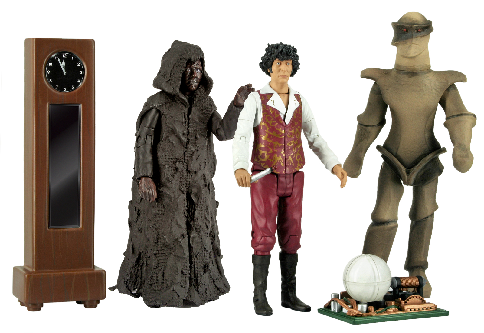 [Action Figure Collectors Set: The Keeper Of Traken (Forbidden Planet Exclusive)]