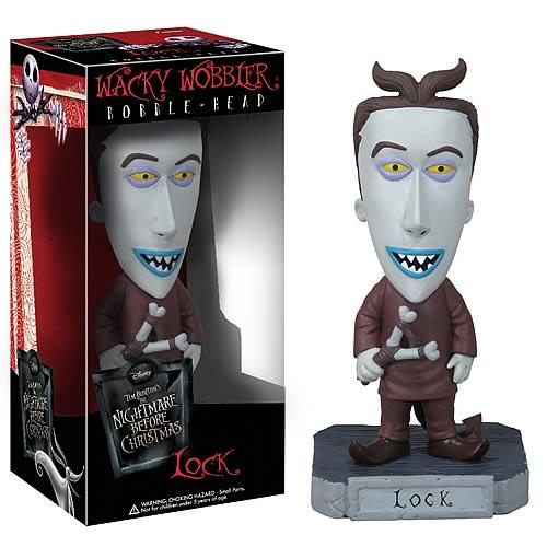 Nightmare Before Christmas: Bobblehead: Lock @ ForbiddenPlanet.com ...
