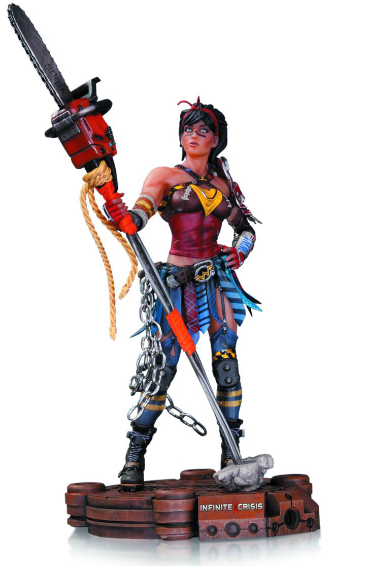 [DC: Infinite Crisis: Statue: Atomic Wonder Woman (Product Image)]