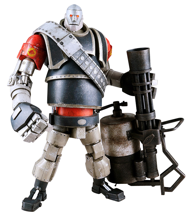 Team Fortress 2: Action Figure: RED Heavy Robot