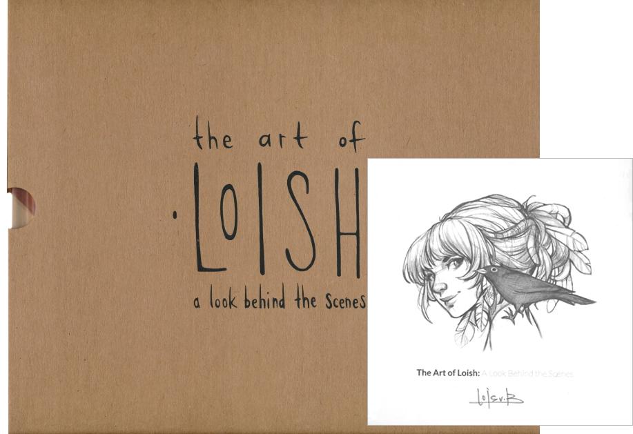 The Art Of Loish Bookplate Edition Hardcover By Lois Van Baarle