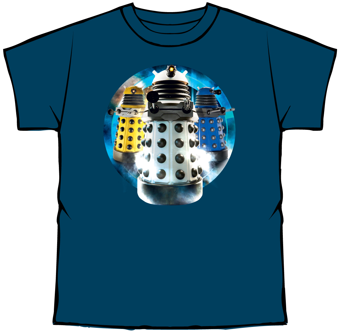 [Doctor Who: T-Shirt: Daleks (Product Image)]