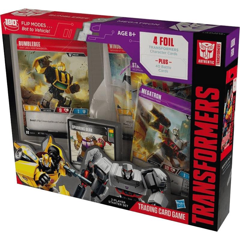 Transformers: Trading Card Game: Bumblebee Vs Megatron: Starter Set