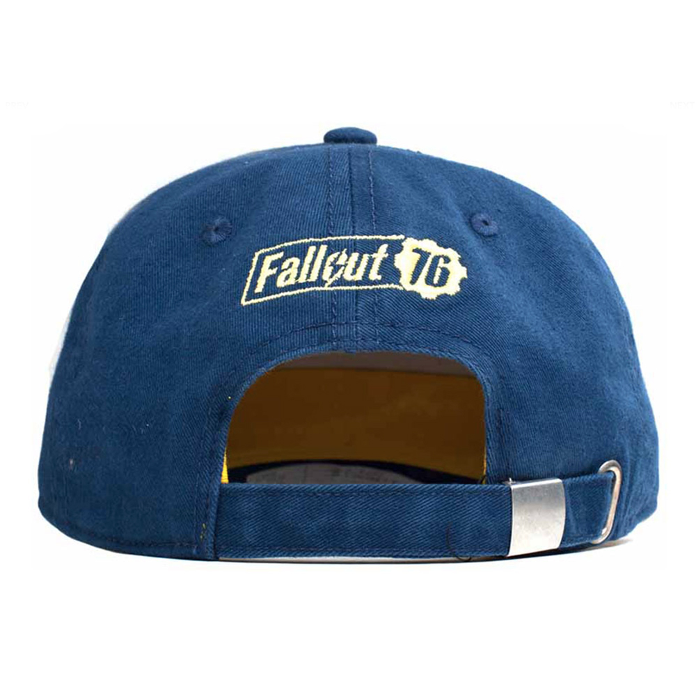 8d9d6e71c44aa4 Description. If you love Fallout then you'll want to wear this awesome  officially licensed unisex adjustable cap which has a Embroidered 3D Vintage  Vault 76 ...