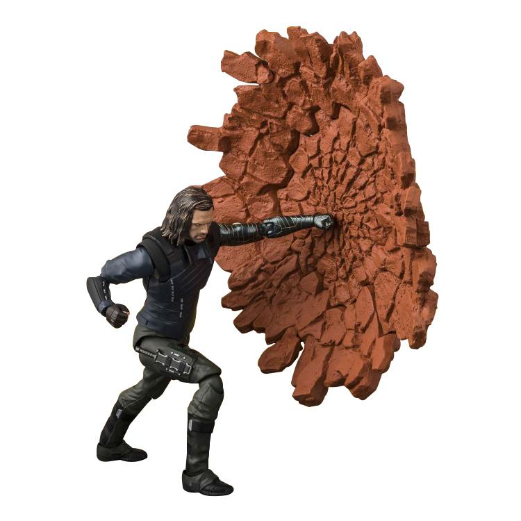 Marvel Avengers Infinity War Bucky /& Tamashii Effect Impact Action Figure