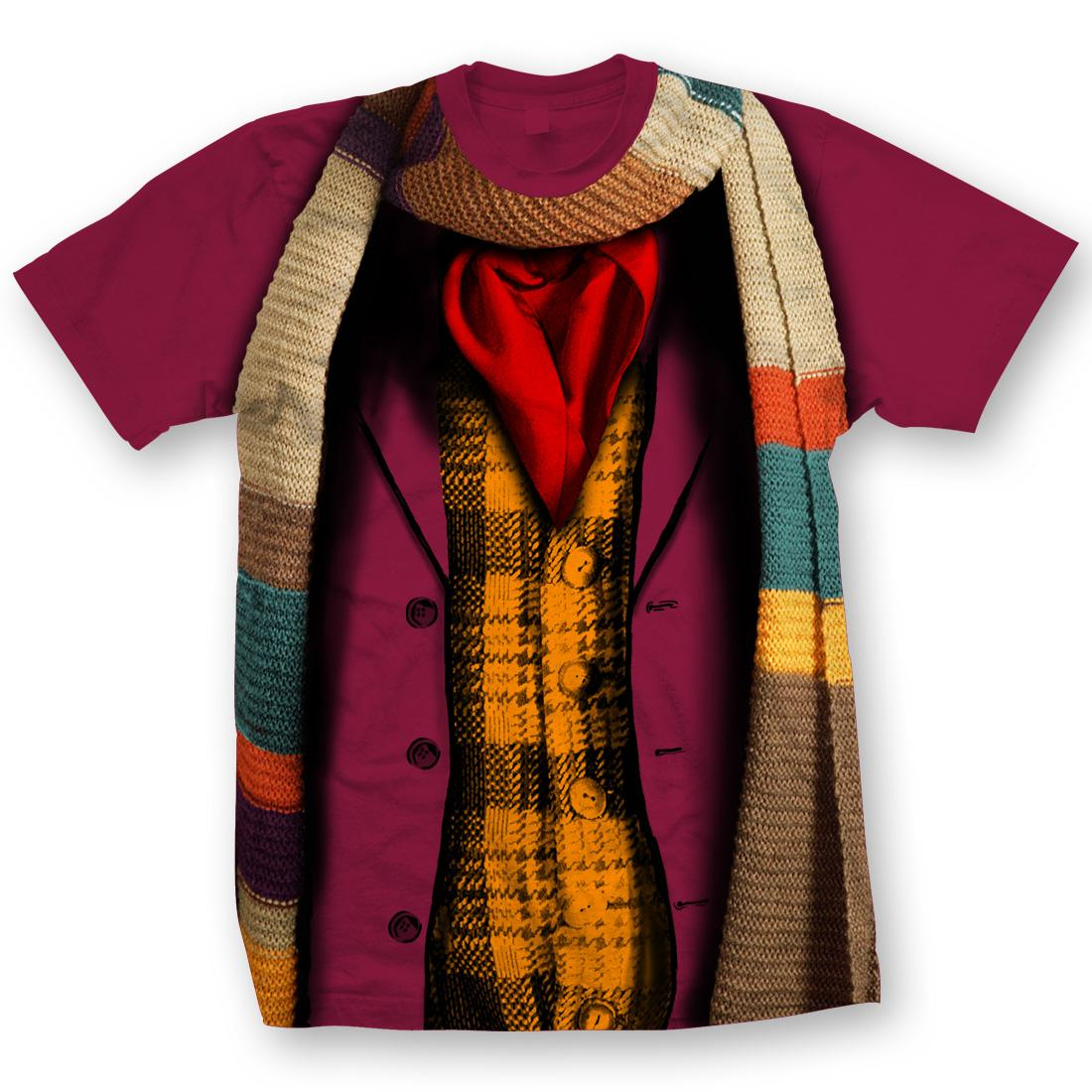 [T-Shirts: 4th Doctor Costume (Forbidden Planet Exclusive)]
