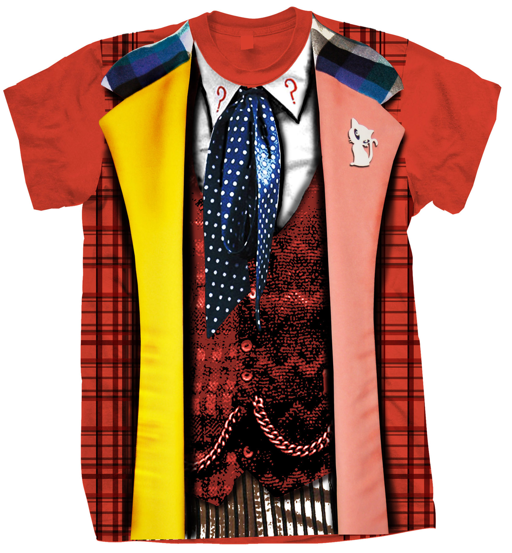 [T-Shirts: 6th Doctor Costume (Forbidden Planet Exclusive)]