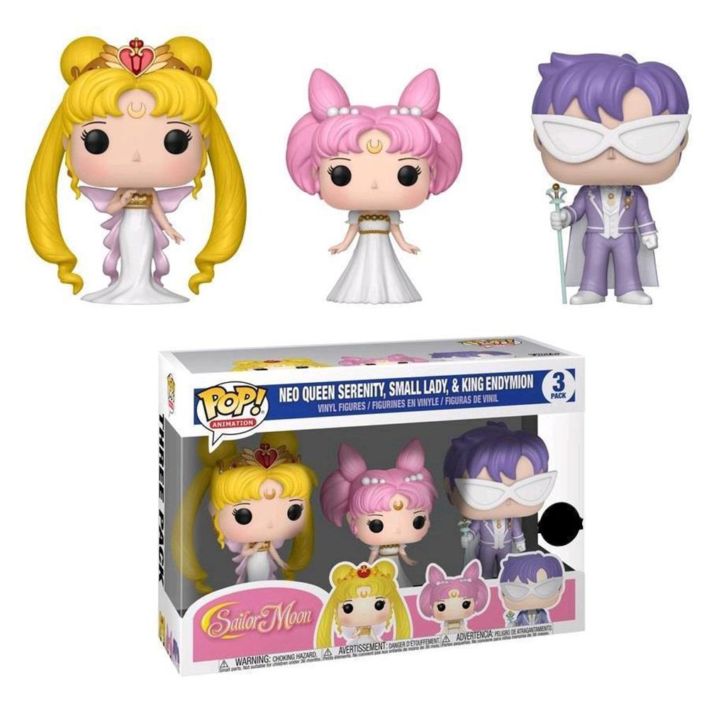 Funko: Sailor Moon: Sailor Moon: Pop! Vinyl Figure 3-Pack: Neo Queen