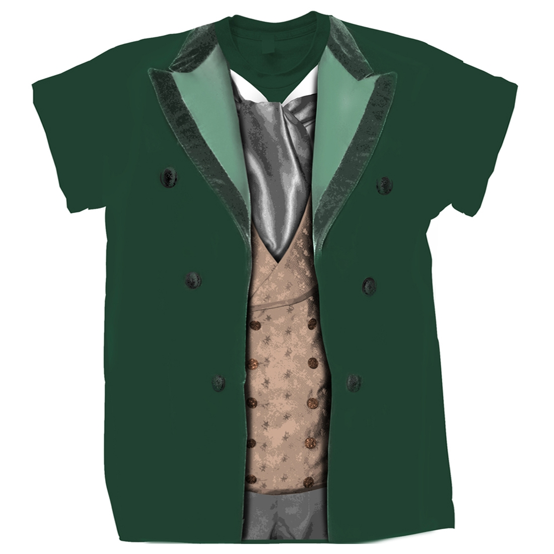 [T-Shirts: 8th Doctor Costume (Forbidden Planet Exclusive)]