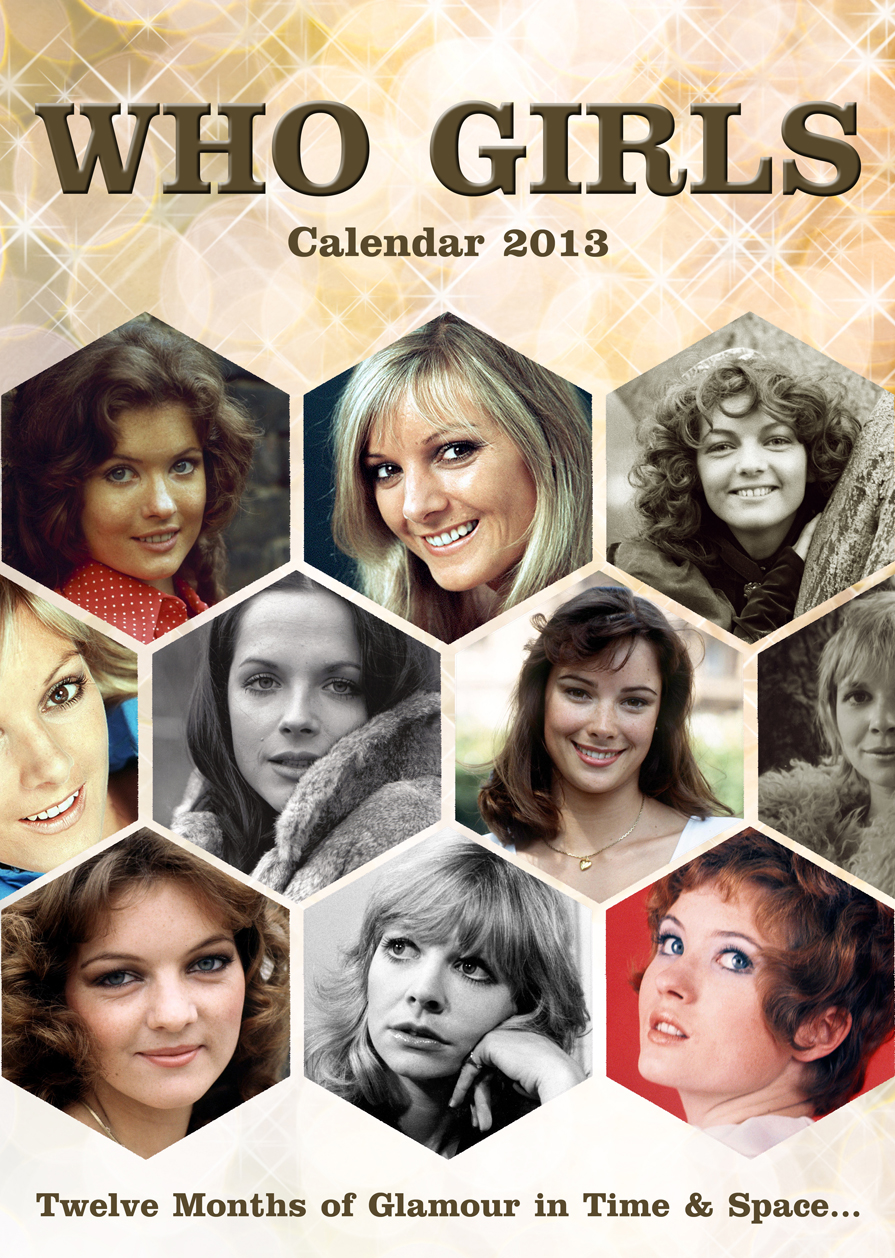 [Doctor Who: Who Girls: Calendar 2013 (Product Image)]