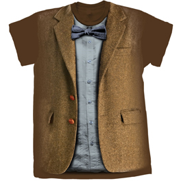 [T-Shirts: 11th Doctor Costume (Variant Design)]