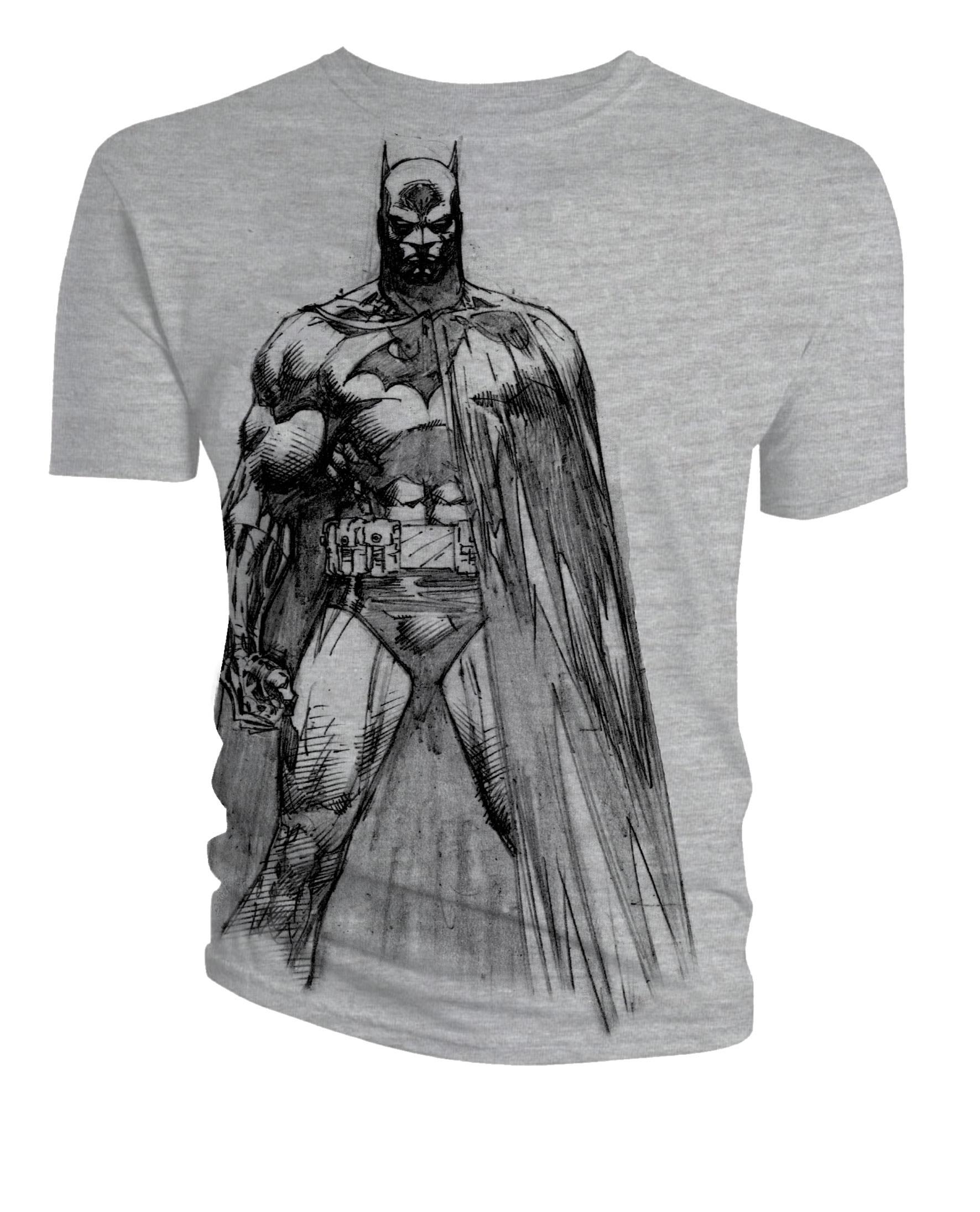 Batman: T-Shirt: Batman Line Art @ ForbiddenPlanet.com - UK and ...