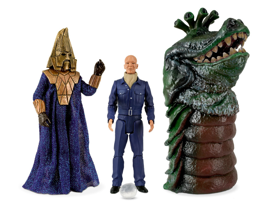 [Doctor Who: Action Figure Collectors Set: Enemies Of The 3rd Doctor (Forbidden Planet Exclusive) (Product Image)]