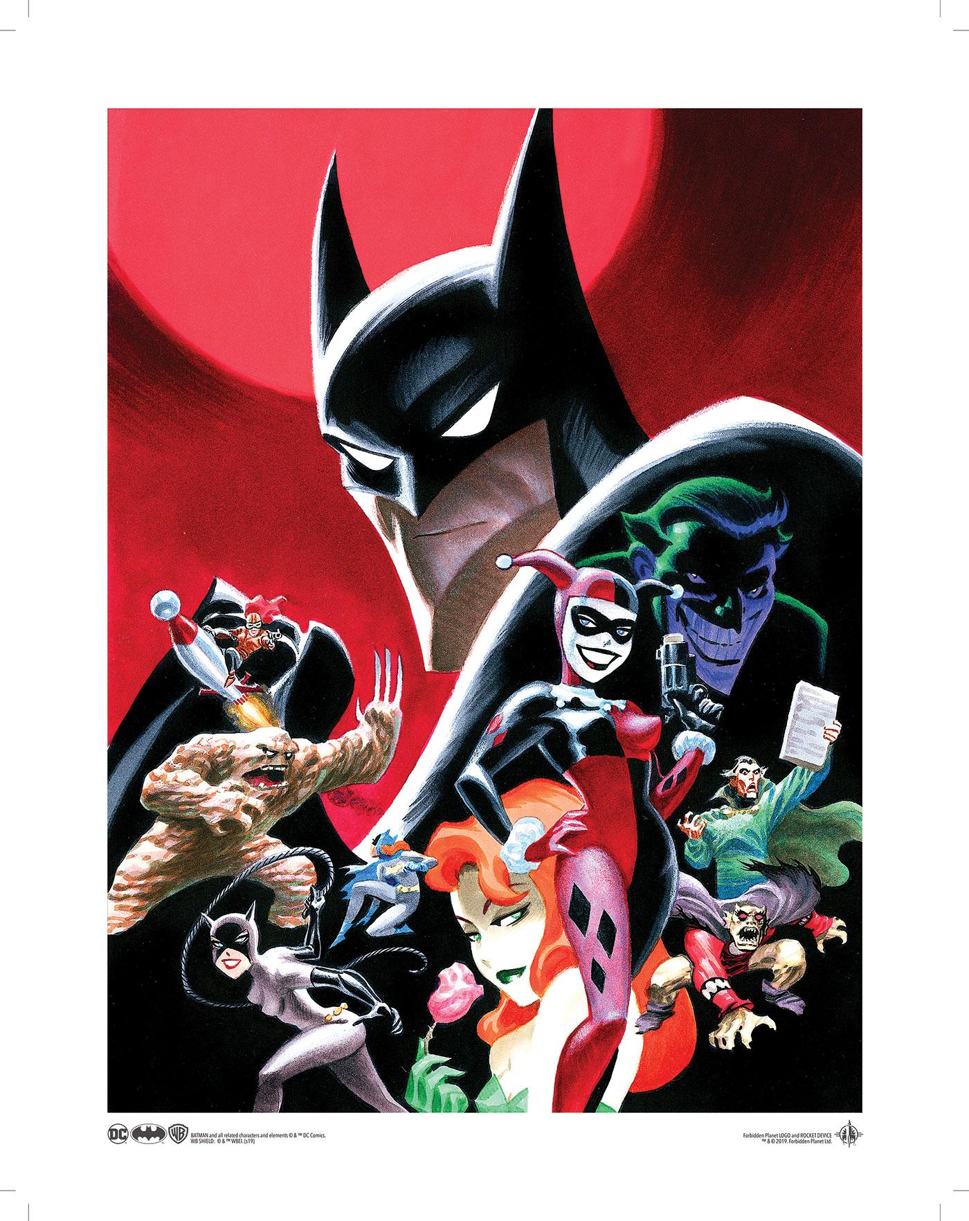 DC Comics Batman Baddies Lanyard
