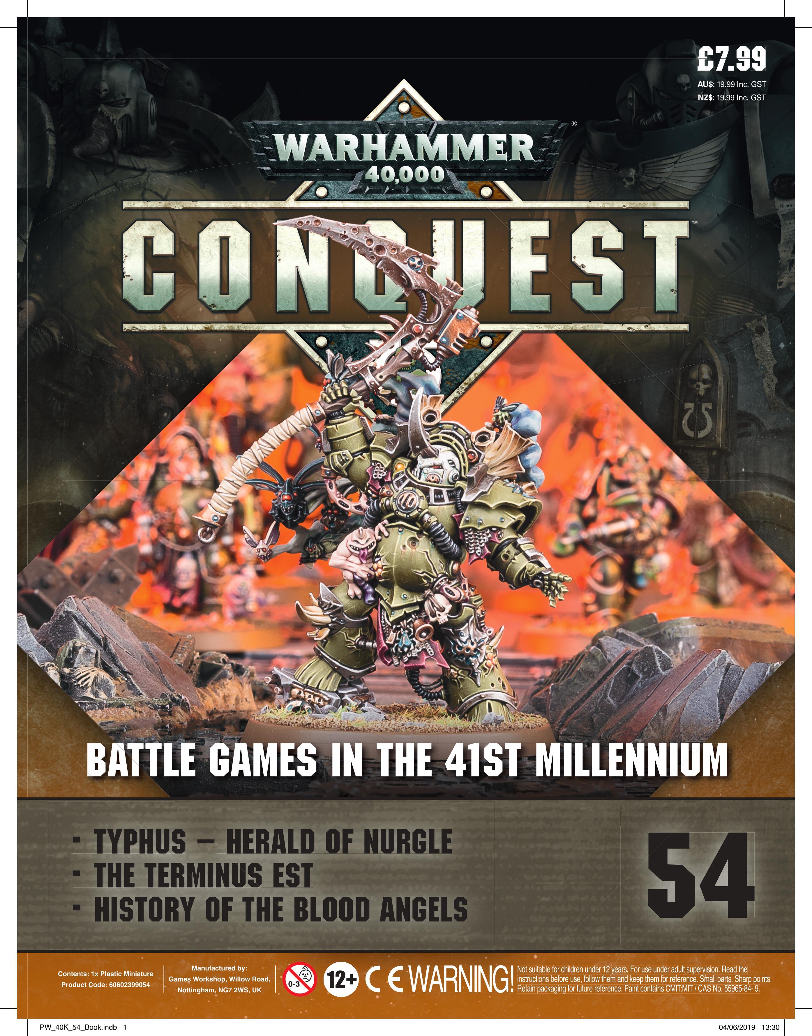 Warhammer 40K: Conquest: Figurine Collection #54