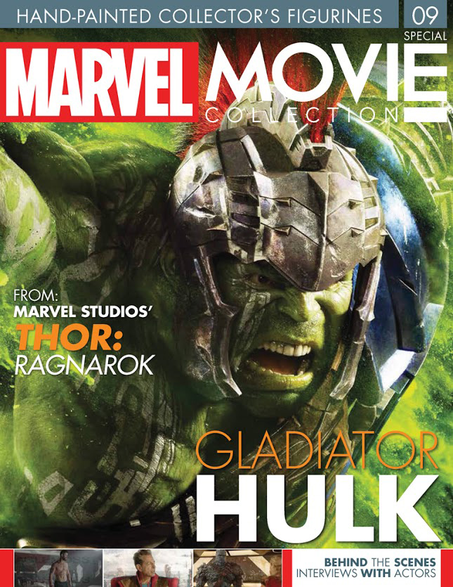 Marvel Movie Figure Collection Special #9: Hulk From Thor Ragnarok