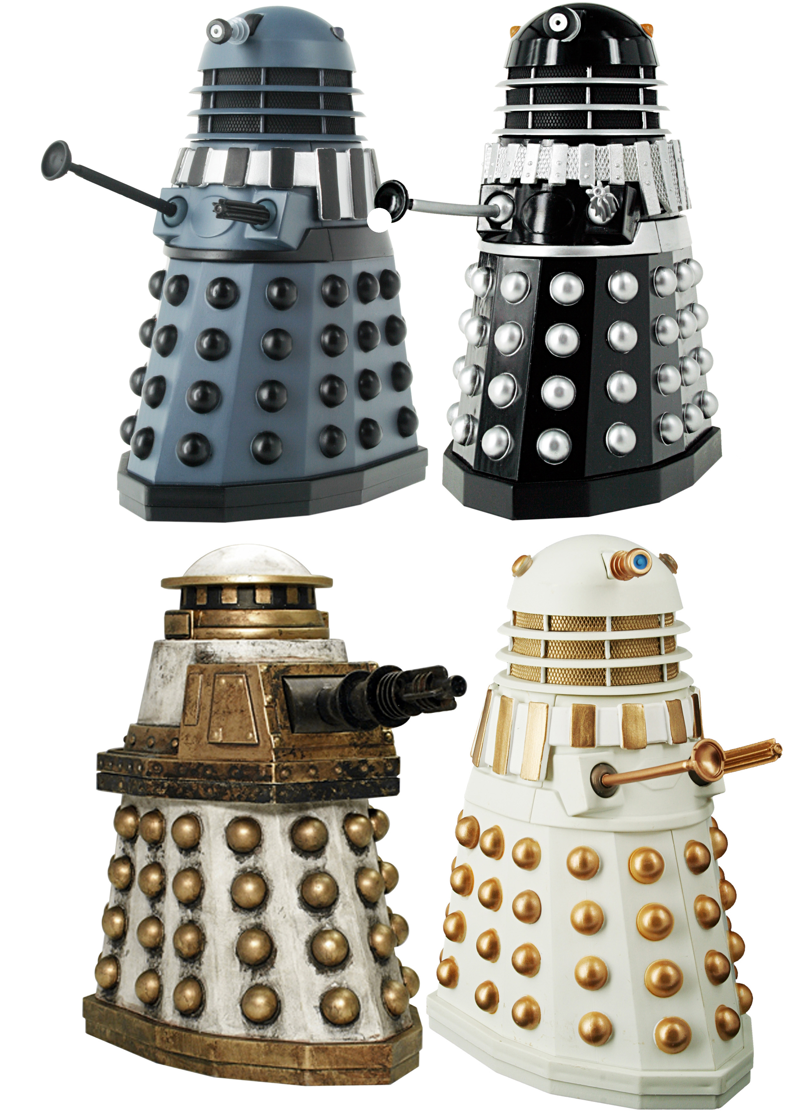 Remembrance of the Daleks Figures