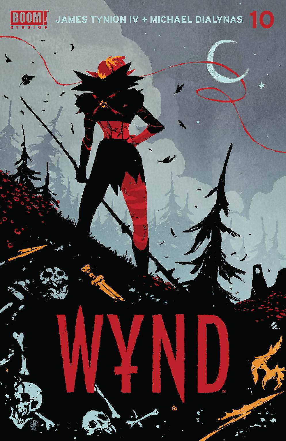 Wynd #10 (Cover A Dialynas) from Wynd by James TynionIv published by Boom!  Studios @ ForbiddenPlanet.com - UK and Worldwide Cult Entertainment  Megastore
