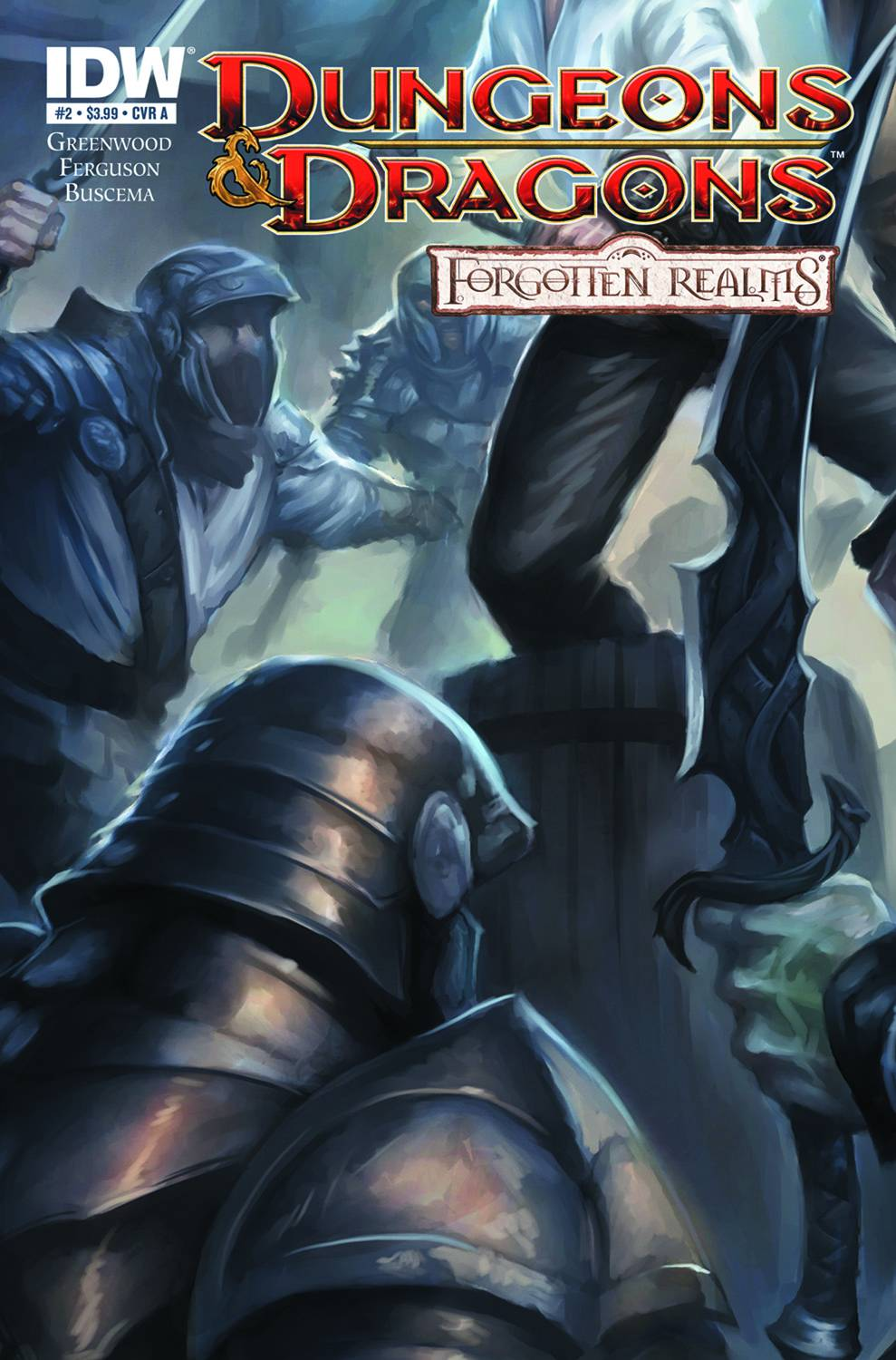 [Dungeons & Dragons: Forgotten Realms #2 (Product Image)]