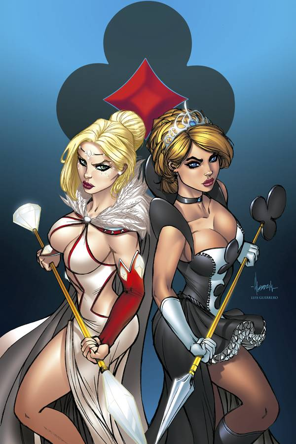 Zenescope Wonderland Clash Of Queens #1 Grimm Fairy Tales
