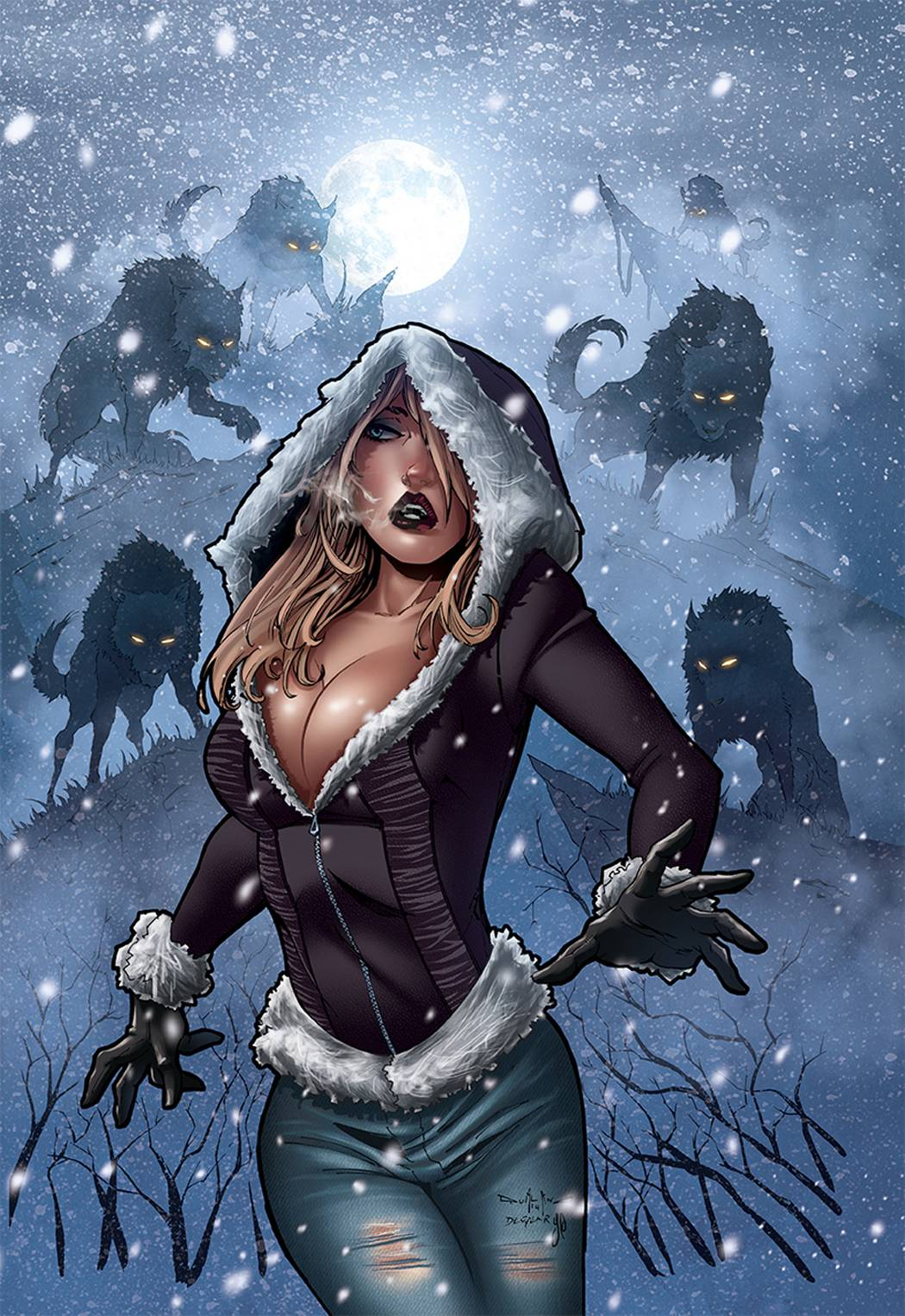 Grimm Fairy Tales Dark Shaman 1 C Cover Qualano ForbiddenPlanet