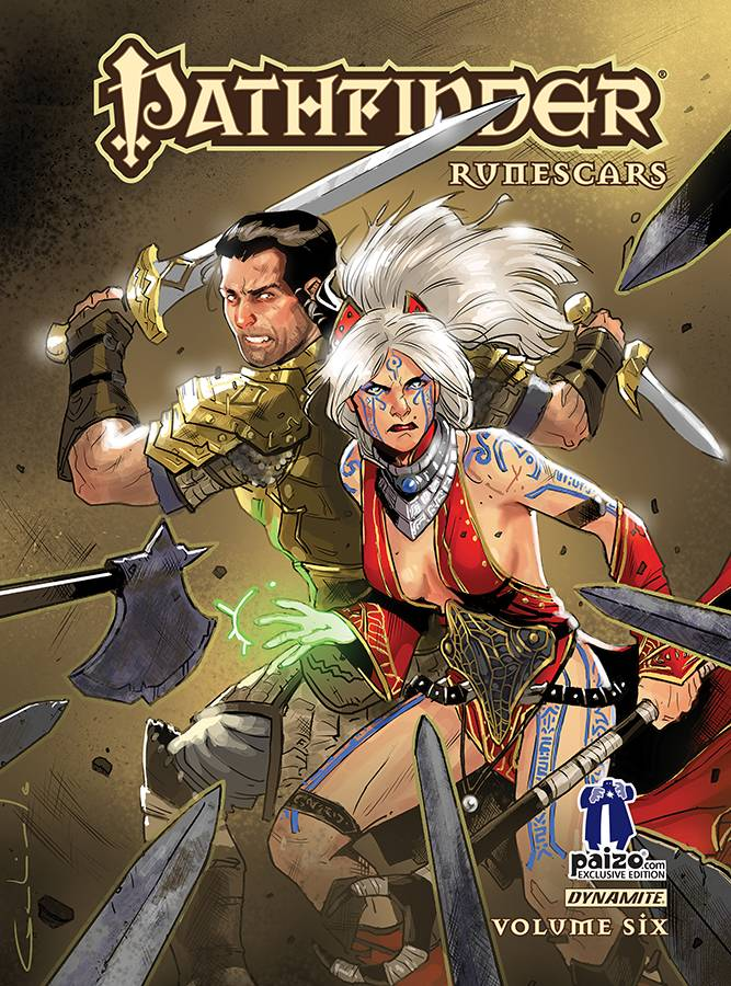 Pathfinder: Runescars: Volume 6 (Paizo Exclusive Edition - Hardcover)