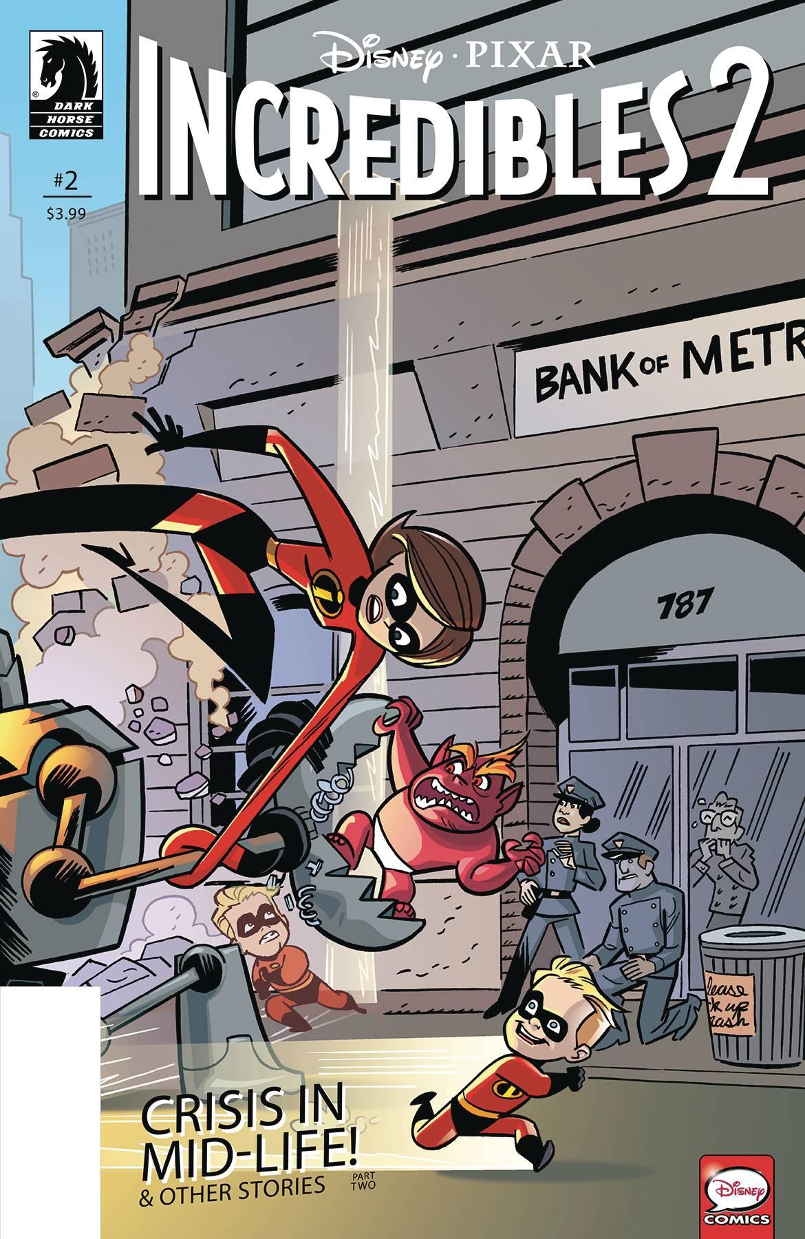 Disney Pixar: Incredibles 2 #2 (Crisis Midlife & Other Stories) (Cover B)