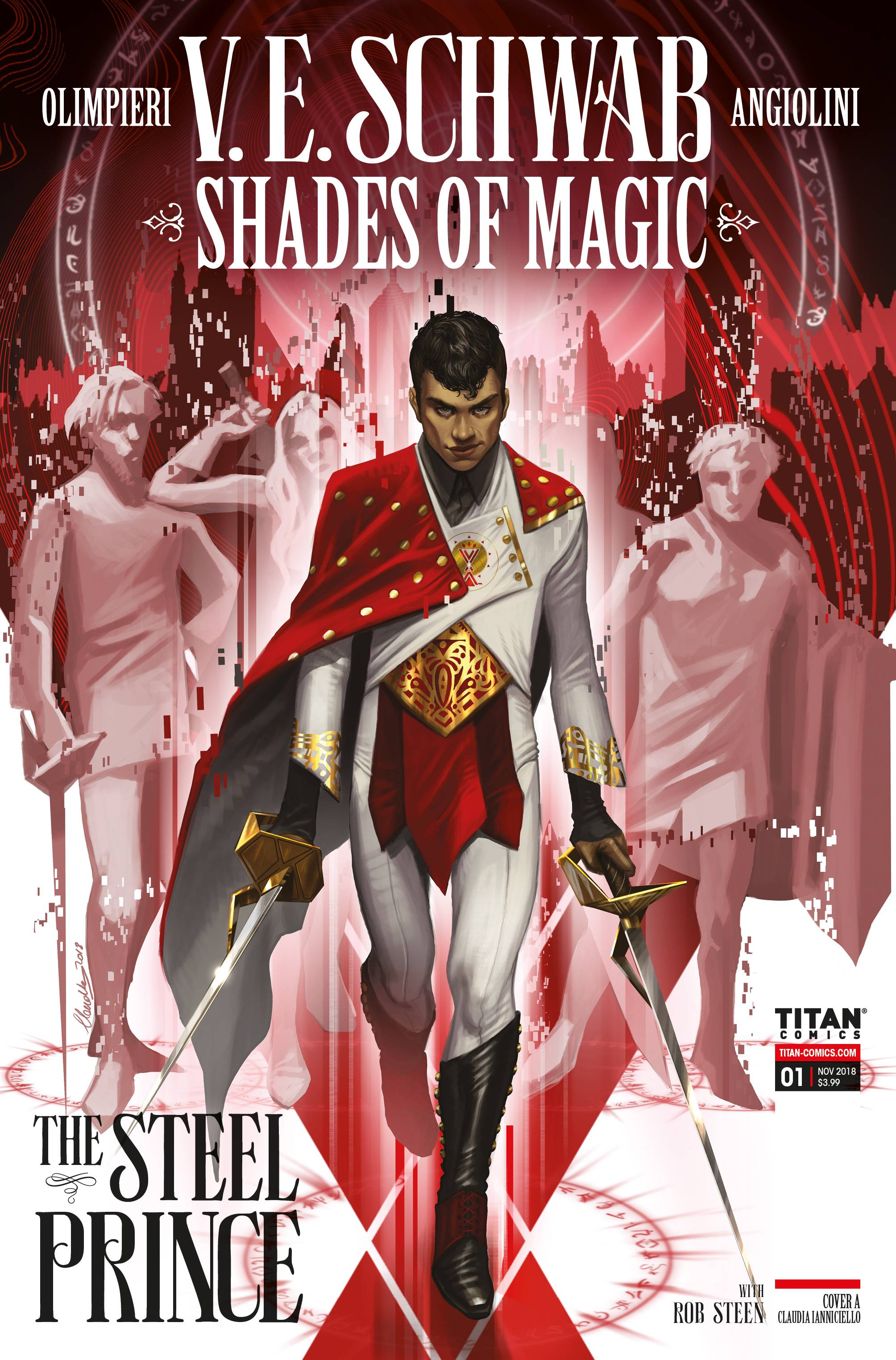 Shades Of Magic 1 Steel Prince Cover A Ianniciello By Ve Evoucer Mcdonald 40000 Schwab Published Titan Comics Uk And Worldwide Cult