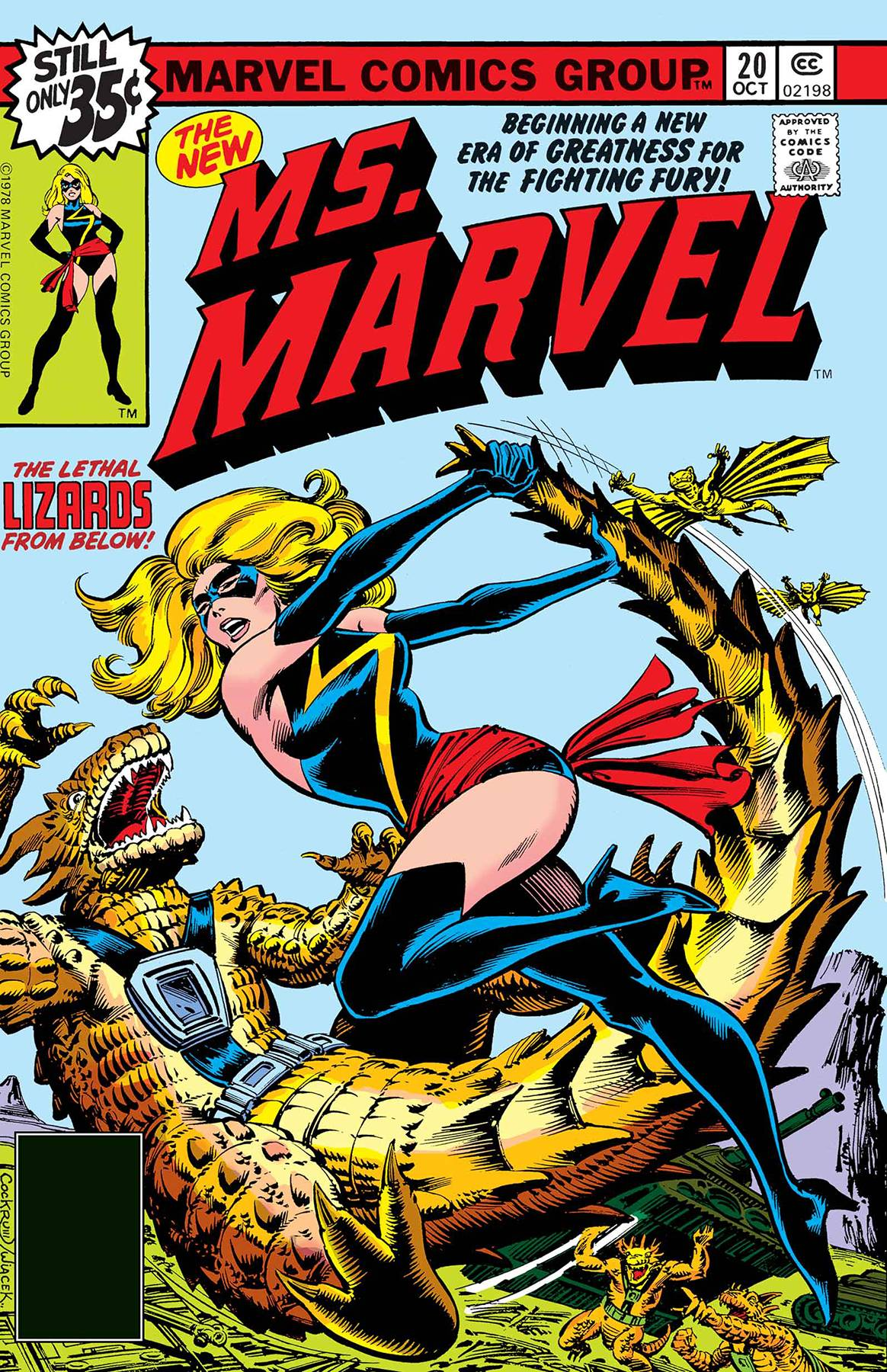 marvel: true believers: captain marvel new ms marvel #1 from true