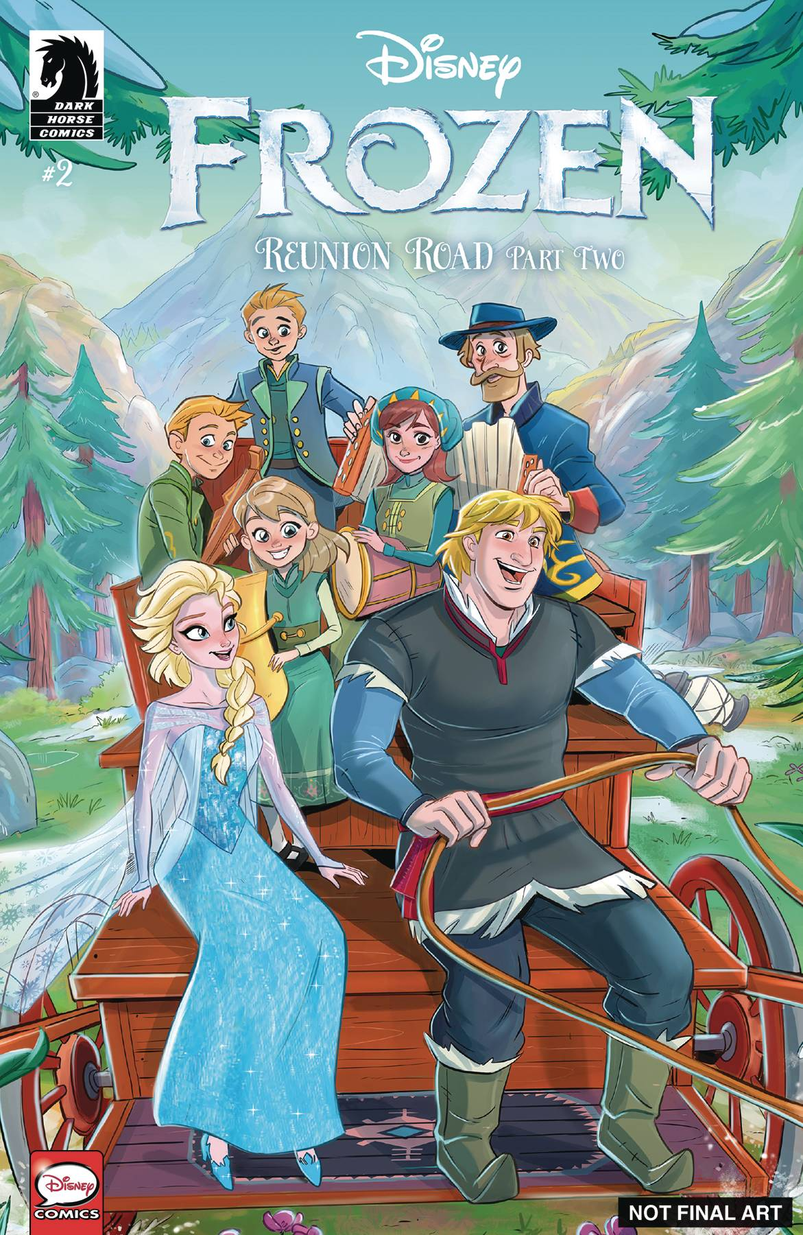 e6818347171 Disney  Disney  Frozen  Reunion Road  2 (Cover A Russo) from Disney ...