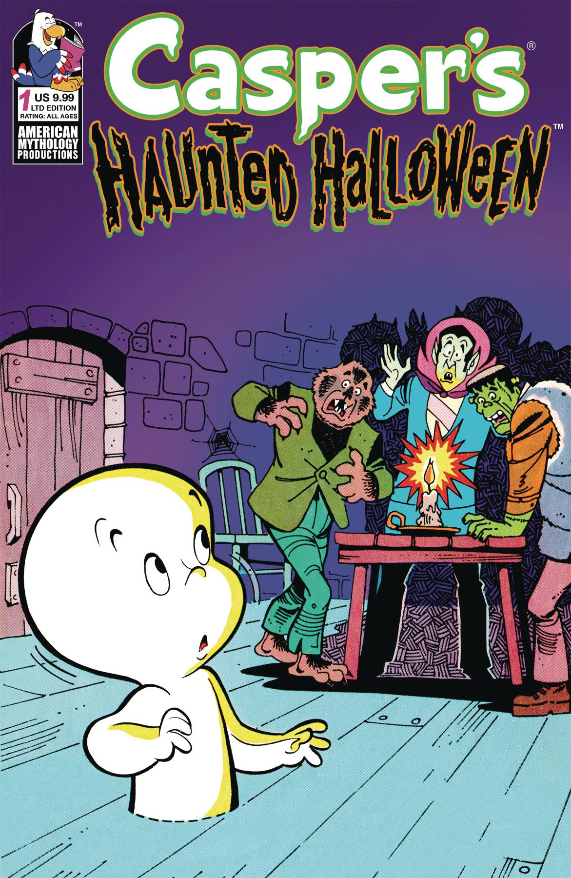 Caspers Haunted Halloween #1 (Limited Edition Retro Animation Cover)