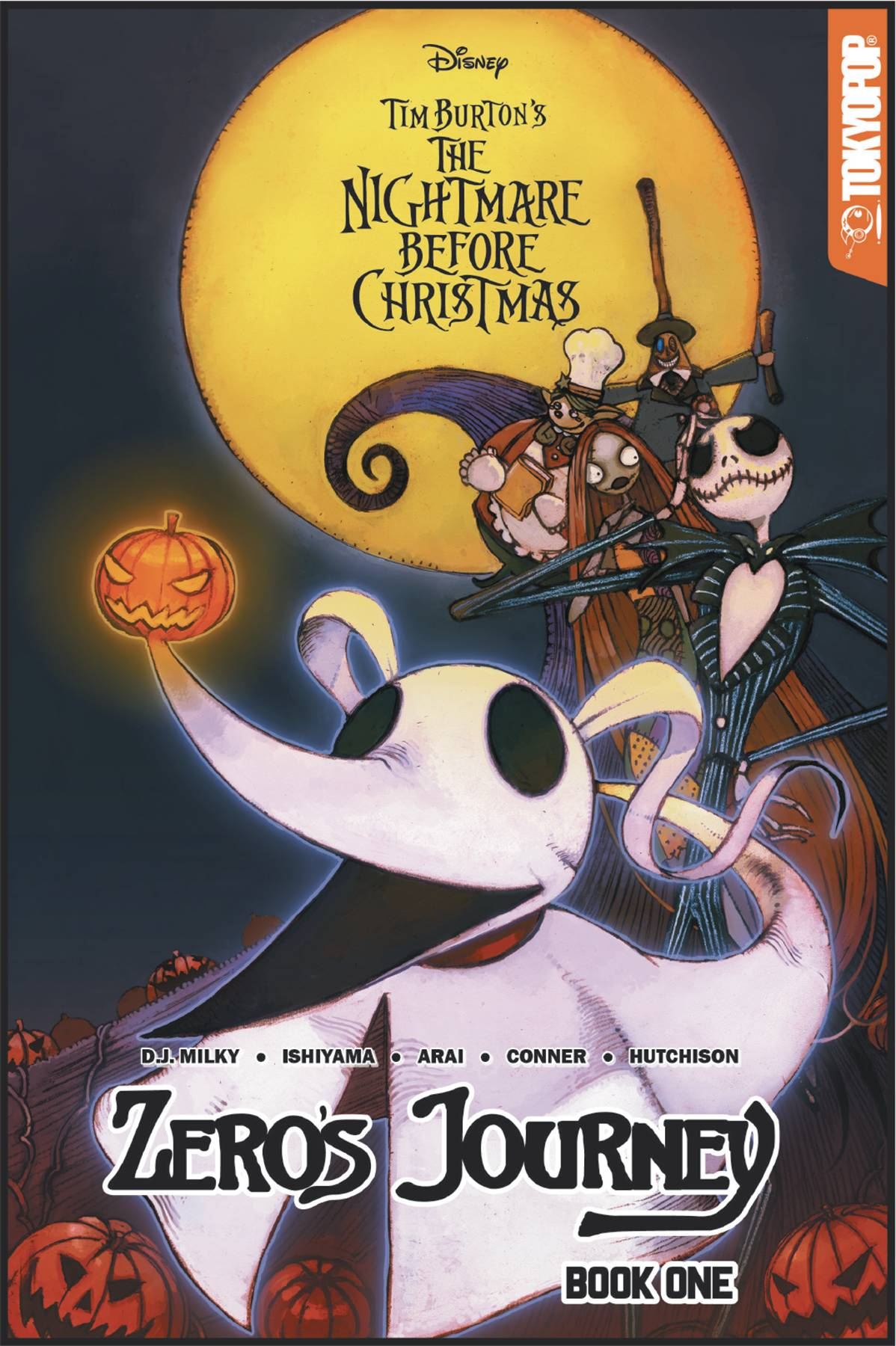 Nightmare Before Christmas Zeros Journey Volume 1