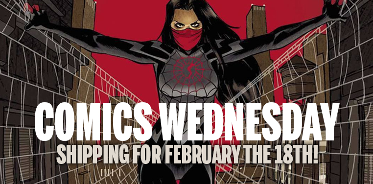 [Comics Wednesday 18/02/2015]