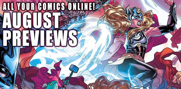 [Previews August 2017]