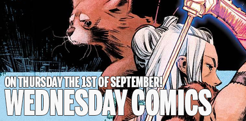 [Wednesday Comics (On Thursday!) 01/09/2016]